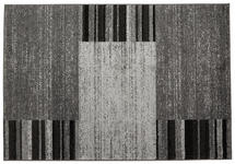 Webteppich Florence 160x230 cm - Schwarz/Grau, KONVENTIONELL, Textil (160/230cm) - Ombra