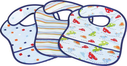 LÄTZCHEN 3-teilig - Blau, Basics, Textil (28/39/cm) - My Baby Lou