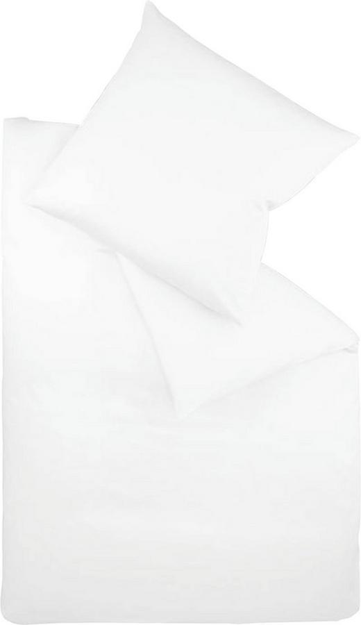 BETTWÄSCHE Makosatin Weiß 155/220 cm - Weiß, Basics, Textil (155/220cm) - FLEURESSE