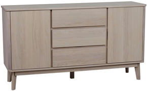 SIDEBOARD - ekfärgad, Design, trä/träbaserade material (152/84/42cm) - Rowico