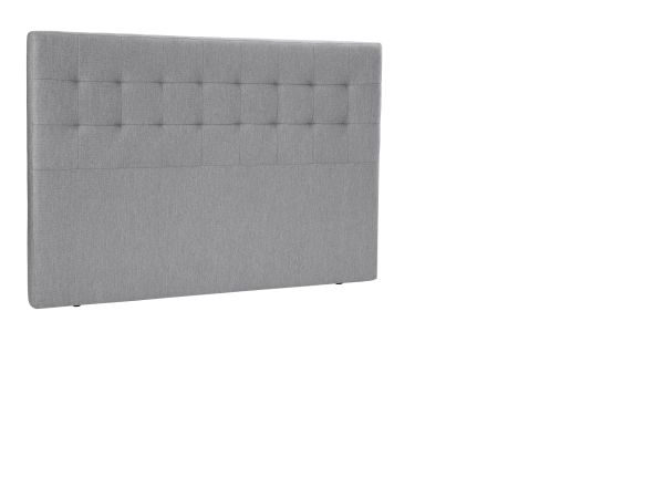 HUVUDGAVEL - ljusgrå, Klassisk, trä/textil (180/125cm) - Novel