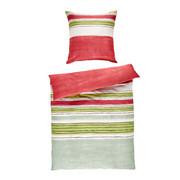 BETTWÄSCHE Makosatin Grün 135/200 cm - Grün, Basics, Textil (135/200cm) - Fleuresse