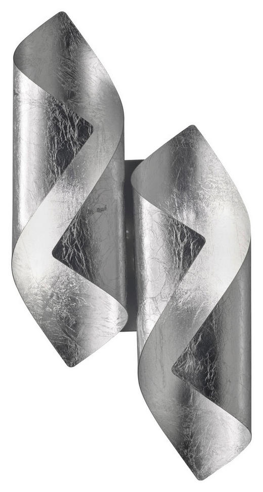 LED-WANDLEUCHTE - Silberfarben, KONVENTIONELL, Metall (42/10/21cm) - Wofi