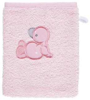 BABY TVÄTTHANDSKE - rosa, Basics, textil (20/16cm) - My Baby Lou