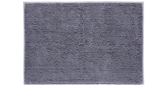 Badematte Anke - Anthrazit, KONVENTIONELL, Textil (60/90cm) - Luca Bessoni