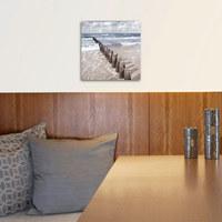 Strand & Meer GLASBILD - Multicolor, Basics, Glas (30/30/2cm) - Eurographics