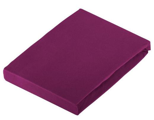 SPANNBETTTUCH Jersey Rosa bügelfrei - Rosa, Basics, Textil (150/200cm) - Novel