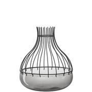 DEKOSCHALE - Schwarz/Grau, Basics, Glas/Metall (24,80/29,00/24,80cm) - Leonardo