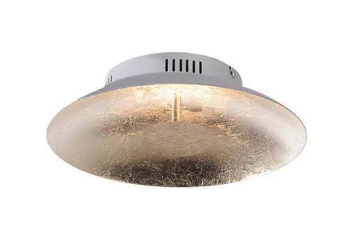 LED-DECKENLEUCHTE - Goldfarben, Design, Metall (30/30/10cm)