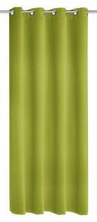 ZAVJESA S RINGOVIMA - zelena, Konvencionalno, tekstil (140/245cm) - ESPOSA