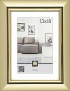 OKVIR ZA SLIKE 575313, 13/18 - zlata, Basics, umetna masa/steklo (23/18/2cm)