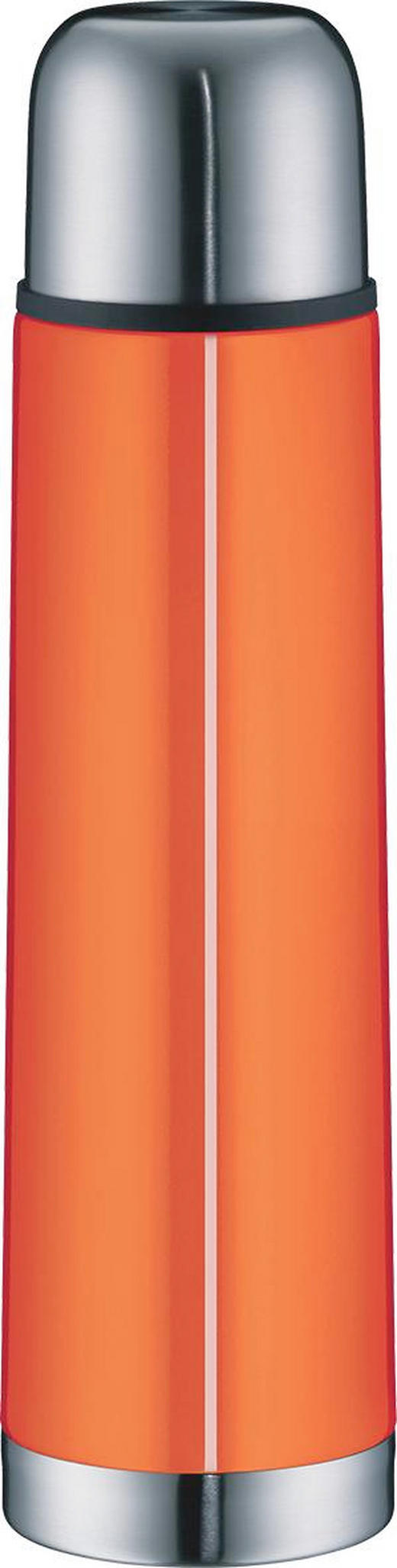 ISOLIERFLASCHE 0,75 L - Orange, Basics, Metall (0,75l) - Alfi