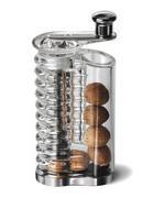 Gewürzmühle - Chromfarben, Konventionell, Kunststoff/Metall (6,4/10/15,2cm)