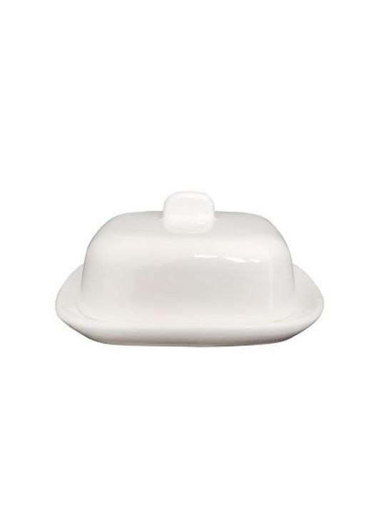 SMÖRASK - vit, Basics, keramik (8/10cm) - NOVEL