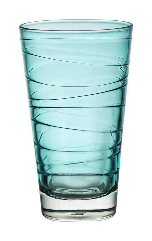 LONGDRINKGLAS - blå, Design, glas (7,50/12,60/7,50cm) - LEONARDO