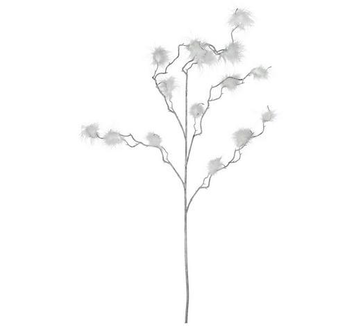 VĚTVIČKA DEKORAČNÍ,  - bílá, Lifestyle, umělá hmota (110cm)