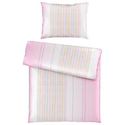 BETTWÄSCHE 140/200 cm - Rosa/Weiß, Trend, Textil (140/200cm) - Esposa