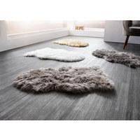 UMĚLÁ KOŽEŠINA - šedohnědá, Design, textil (60/90cm) - Boxxx