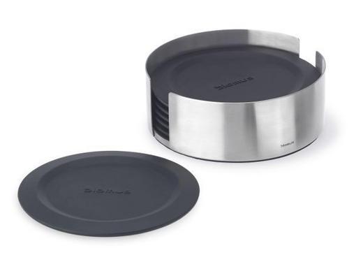 UNTERSETZER - Schwarz, Basics, Kunststoff/Metall (11,5cm) - Blomus