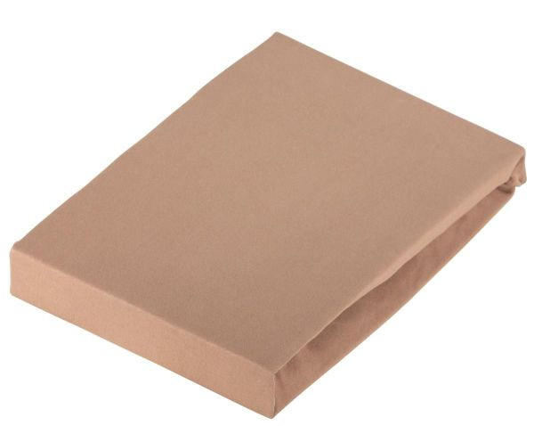 PLAHTA S GUMICOM - smeđa, Konvencionalno, tekstil (180/200cm) - SCHLAFGUT