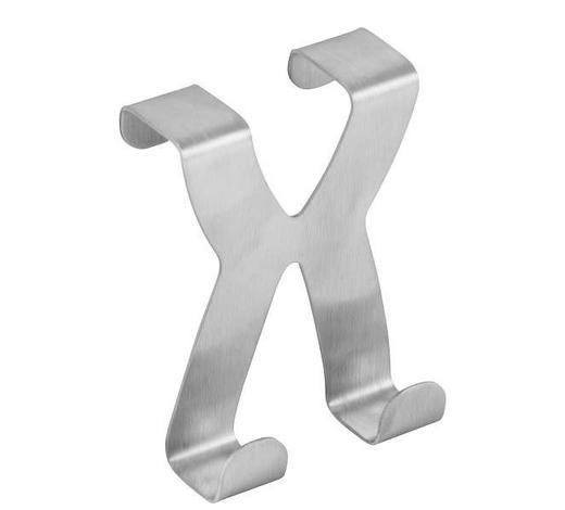 HAKEN in Silberfarben - Silberfarben, Basics, Metall (6cm) - Fackelmann