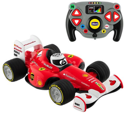 SPIELZEUGAUTO Ferrari Racer Formel 1 - Rot/Schwarz, Basics, Kunststoff (37,2/18,2/21,3cm) - Chicco