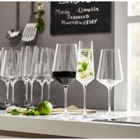 Gläserset - Transparent, Design, Glas (50/26/28cm) - Leonardo
