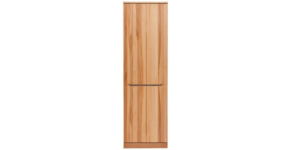 GARDEROBENSCHRANK - Buchefarben/Grau, Natur, Holz/Metall (60/200/38cm) - Valnatura