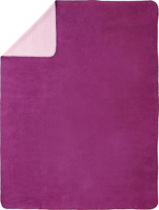 DEKA - roza/boje bobica, Basics, tekstil (150/200cm) - Novel