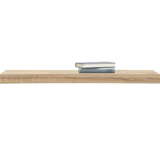POLICE NÁSTĚNNÁ, Sonoma dub - Sonoma dub, Design, kompozitní dřevo (90/25cm)