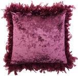 ZIERKISSEN 43/43 cm - Aubergine, Design, Textil (43/43cm) - Ambiente