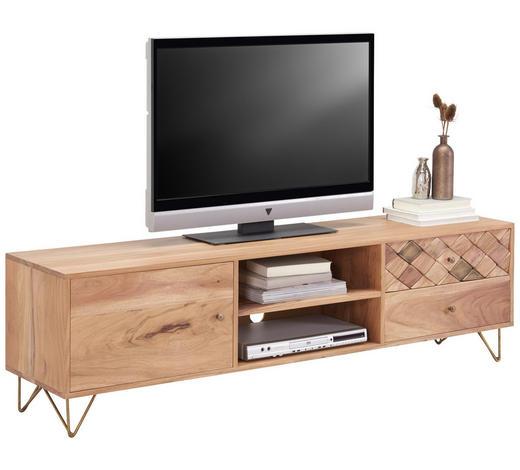 LOWBOARD 160/45/35 cm - Naturfarben, Trend, Holz/Holzwerkstoff (160/45/35cm) - Ambia Home
