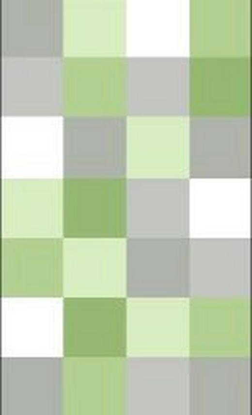 BADTEPPICH  Hellgrün  55/65 cm - Hellgrün, Basics, Kunststoff/Textil (55/65cm) - Kleine Wolke