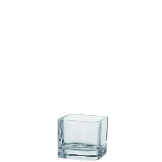 VASE 10 cm - Klar, Basics, Glas (11/10cm) - Leonardo