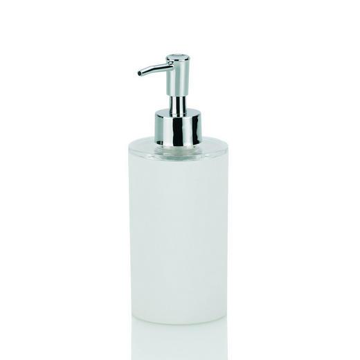 SEIFENSPENDER - Weiß, Basics, Kunststoff/Metall (6,5/18,5cm)