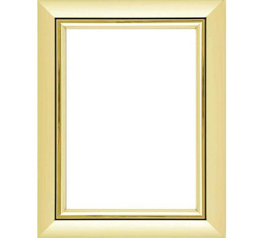 BILDERRAHMEN in Goldfarben - Goldfarben, Basics, Glas/Kunststoff (23/18/2cm)