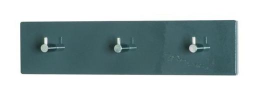 GARDEROBA ZIDNA - siva/boje kroma, Design, drvni materijal/metal (34/5/8cm) - BOXXX