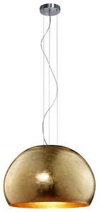 HÄNGELEUCHTE - Goldfarben, Design, Metall (51/155cm)