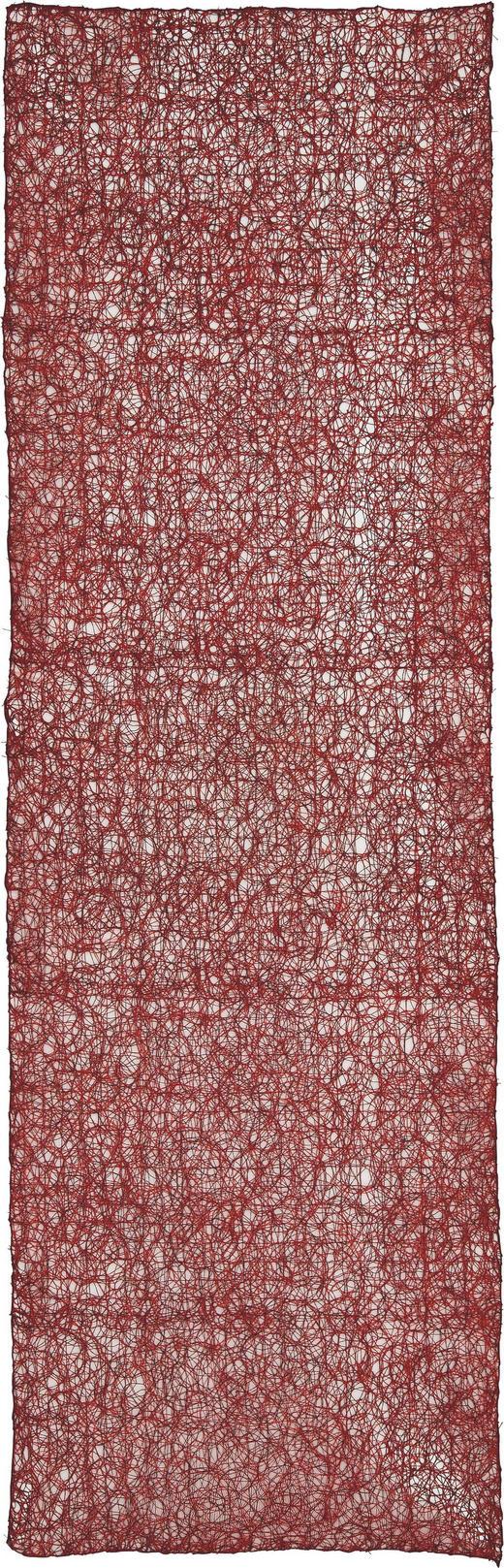 TISCHLÄUFER Textil Bordeaux 45/140 cm - Bordeaux, KONVENTIONELL, Textil (45/140cm)