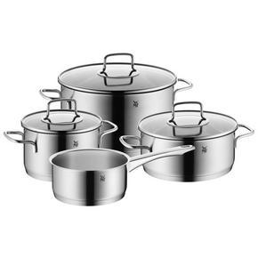 KASTRULLSET - rostfritt stål-färgad, Design, metall (53/29/21,5cm) - WMF