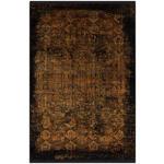VINTAGE-TEPPICH  140/200 cm  Schwarz, Goldfarben   - Goldfarben/Schwarz, Design, Textil (140/200cm) - Dieter Knoll
