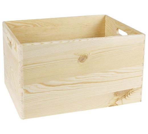 BOX, dřevo - Natur, dřevo (40/30/23cm)
