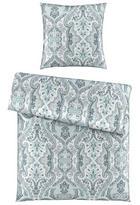 BETTWÄSCHE Satin Blau 135/200 cm - Blau, KONVENTIONELL, Textil (135/200cm) - Esposa