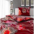 BETTWÄSCHE 140/200 cm  - Rostfarben/Rot, KONVENTIONELL, Textil (140/200cm) - Esposa