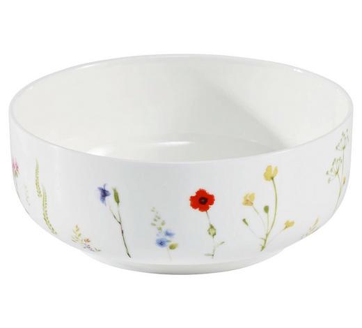 MISKA NA MÜSLI, kostní porcelán (bone china) - bílá/vícebarevná, Basics, keramika (15cm) - Novel
