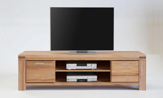 TV-ELEMENT Eiche massiv Eichefarben - Eichefarben, Basics, Holz (195/51/50cm) - Carryhome