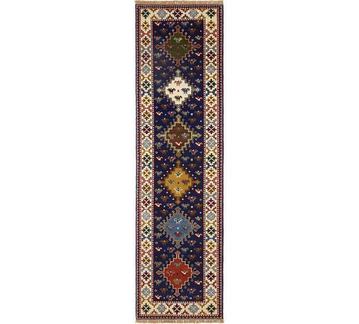 KOBEREC ORIENTÁLNÍ, 80/300 cm, modrá, krémová - modrá/krémová, Lifestyle, textilie (80/300cm) - Esposa