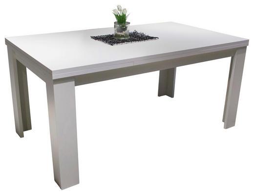 ESSTISCH rechteckig Weiß - Weiß, Design (180-280/90/75,5cm) - Hom`in