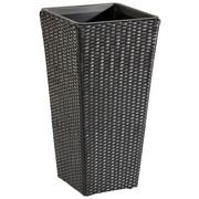 PFLANZENTOPF 36/70/36 cm - Schwarz, KONVENTIONELL, Kunststoff/Metall (36/70/36cm) - AMBIA GARDEN