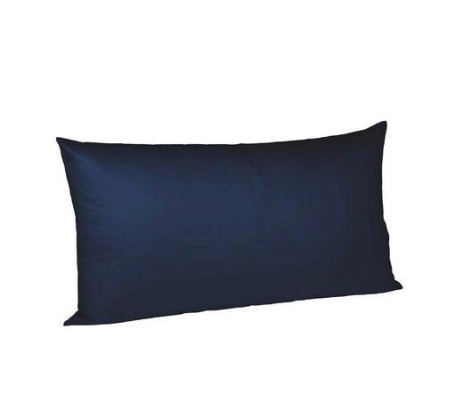 KISSENHÜLLE Dunkelblau 40/80 cm  - Dunkelblau, Basics, Textil (40/80cm) - Fleuresse